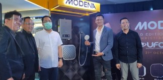 Gandeng Christian Sugiono, Modena Luncurkan Water Heater Limited Edition