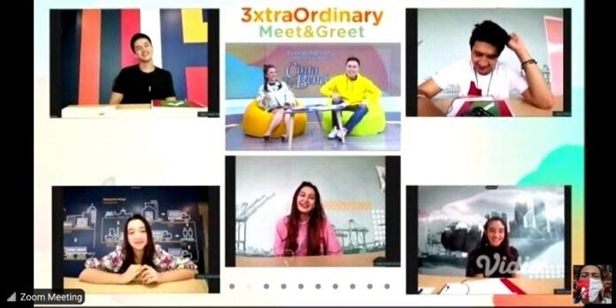 Giliran Pemain Cinta Tapi Benci SCTV, Hadir dalam 3xtraOrdinary Meet and Greet Secara Virtual