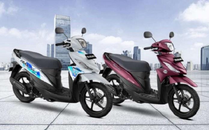 Suzuki Address F1 Tampil dengan Warna dan Corak Baru