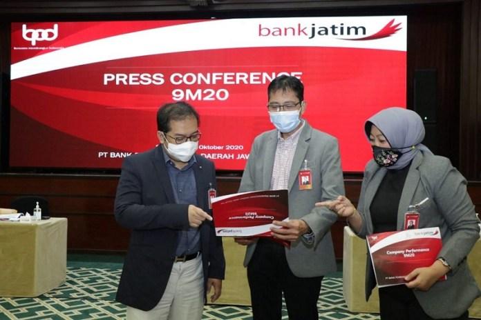 Catat Laba Bersih Rp 1,1 Triliun, Bank Jatim Sudah Salurkan Dana PEN sebesar Rp 2,57 Triliun