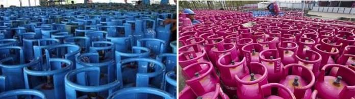 Elpiji Tabung Biru 12 Kg akan Ganti Jadi Bright Gas Warna Pink