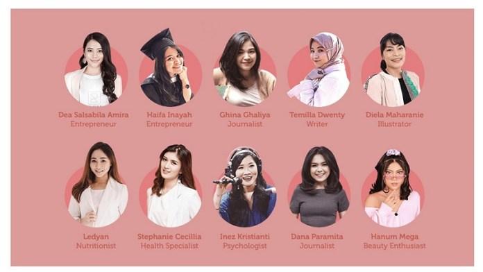 Marina Anugerahkan Beautyversary Awards 2020 pada 10 Perempuan Inspiratif