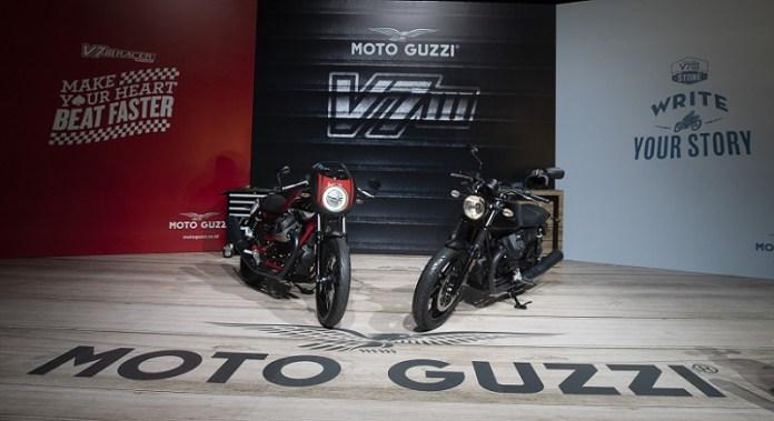 PT Piaggio Indonesia Luncurkan Generasi Ketiga Moto Guzzi V7
