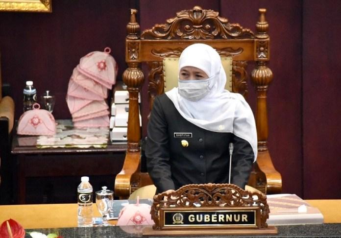 Gubernur Khofifah Positif Covid-19