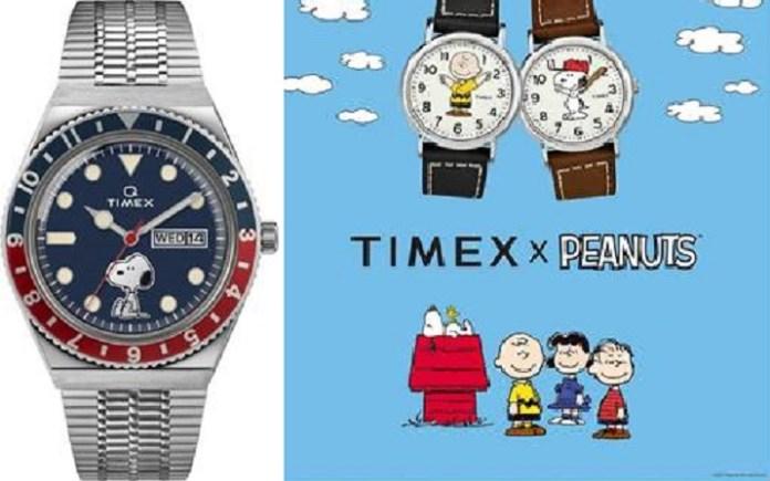 Jam Tangan TimexHadirkan Geng Peanuts di Koleksi Terbarunya