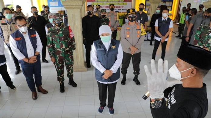 PPKM Mikro di Jatim Pakai Satuan Kampung Tangguh