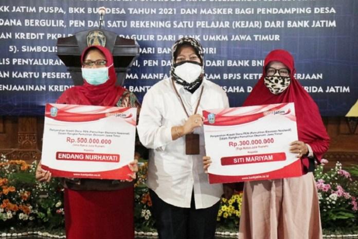 Bank Jatim Salurkan Kredit Dana Bergulir & Kredit PEN untuk Kabupaten Ponorogo