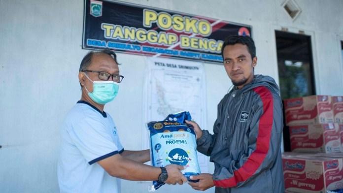 PT AMA Berikan Bantuan Korbam Bencana Gempa Malang