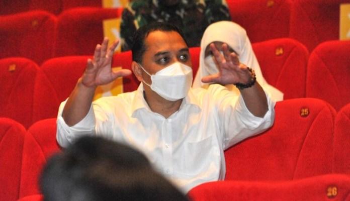 Wali Kota Surabaya Tinjau Pembukaan Bioskop dan Minta Pengelola Tegas Soal Prokes
