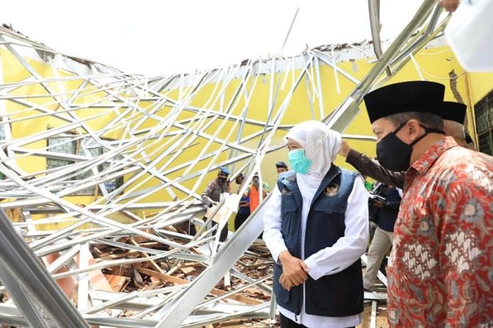 Pasca Gempa 6,1 M, Khofifah Minta Masyarakat Waspada Ancaman Bencana Lain