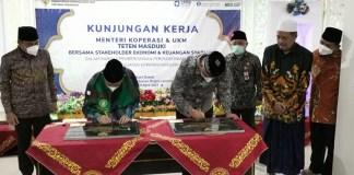 Distribution Center KSBP Jatim Diresmikan BI untuk Kembangkan Kemandirian Pesantren