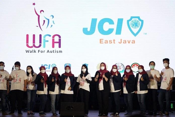 Road To Walk for Autism 2021, Project JCI East Java untuk Penyandang Autis