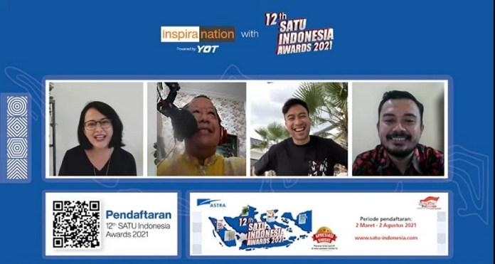 12th SATU Indonesia Awards 2021 Ajak Generasi Muda Manfaatkan Teknologi Sebagai Solusi