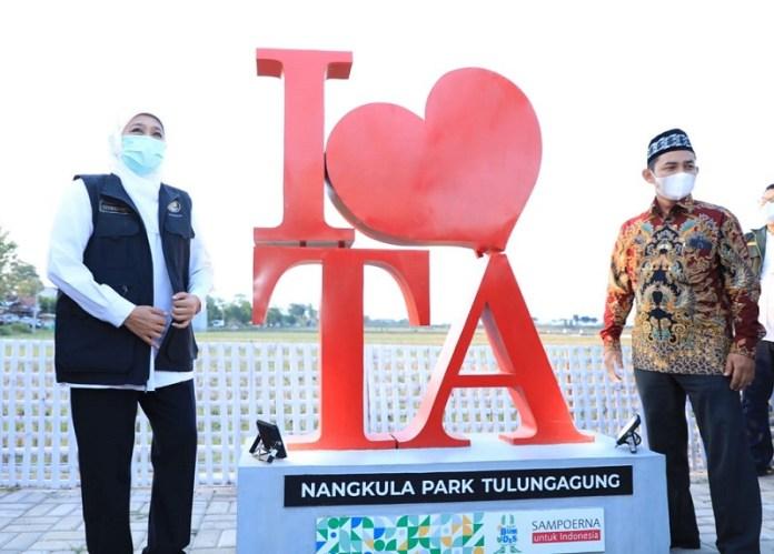 Desa Wisata Nangkula Park Tulungagung diharapkan Jadi Inspirasi Bagi BUMDes
