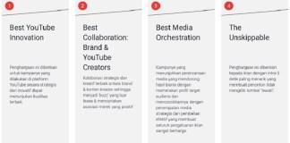 YouTube Works Awards diluncurkan di Indonesia