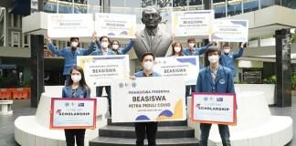 UK Petra Gelontorkan Beasiswa di Masa Pandemi Covid-19 Sebesar 5,5 Milyar