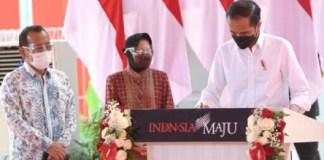 Presiden Minta Kota Lain Tiru Surabaya Soal Pengolahan Sampah