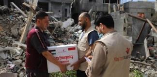 Yatim Mandiri Kirim Bantuan untuk penduduk Palestina