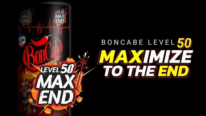 BonCabe Luncurkan Produk Terbarunya BonCabe Level 50 Max End