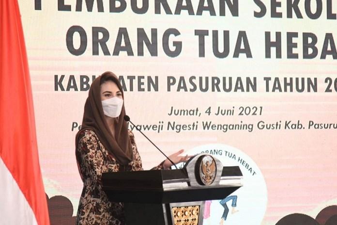 Buka SOTH di Pasuruan, Arumi Harap Bisa Diduplikasi Daerah Lain di Jatim