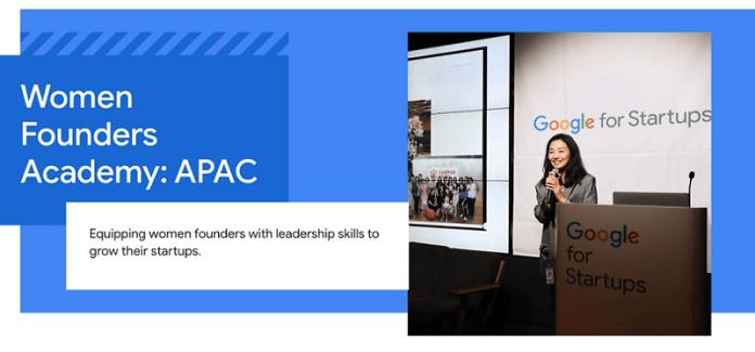 Google for Startups membuka pendaftaran untuk Women Founders Academy
