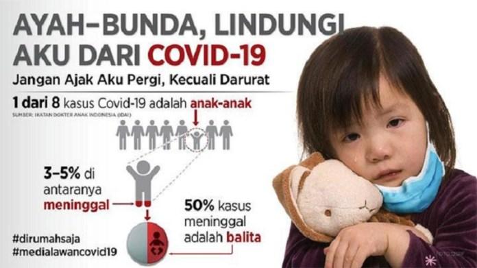 Ini Panduan Isolasi Mandiri pada Anak yang Terpapar Covid-19