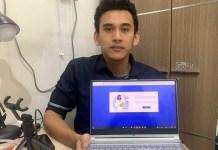 Mahasiswa ITS Kevin, Kembangkan Aplikasi Berbasis Website untuk Dukung Digitalisasi di RS,
