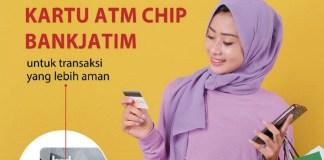 Bank Jatim Minta Nasabah Ganti Kartu ATM Lama dengan Kartu ATM Chip