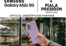 Galaxy A52s 5G Jadi Official Smartphone Piala Presiden Esport dan ML Professional League 2021