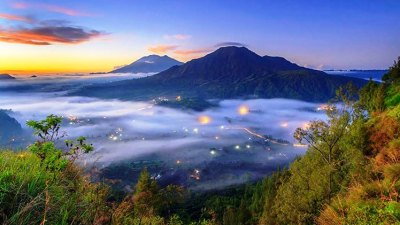 Pinggan Village Kintamani, the Land above the Clouds in Bali