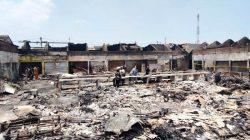 Update Kebakaran di Pasar Nguling, 257 Pedagang Tempatnya Terbakar, Berikut Rinciannya