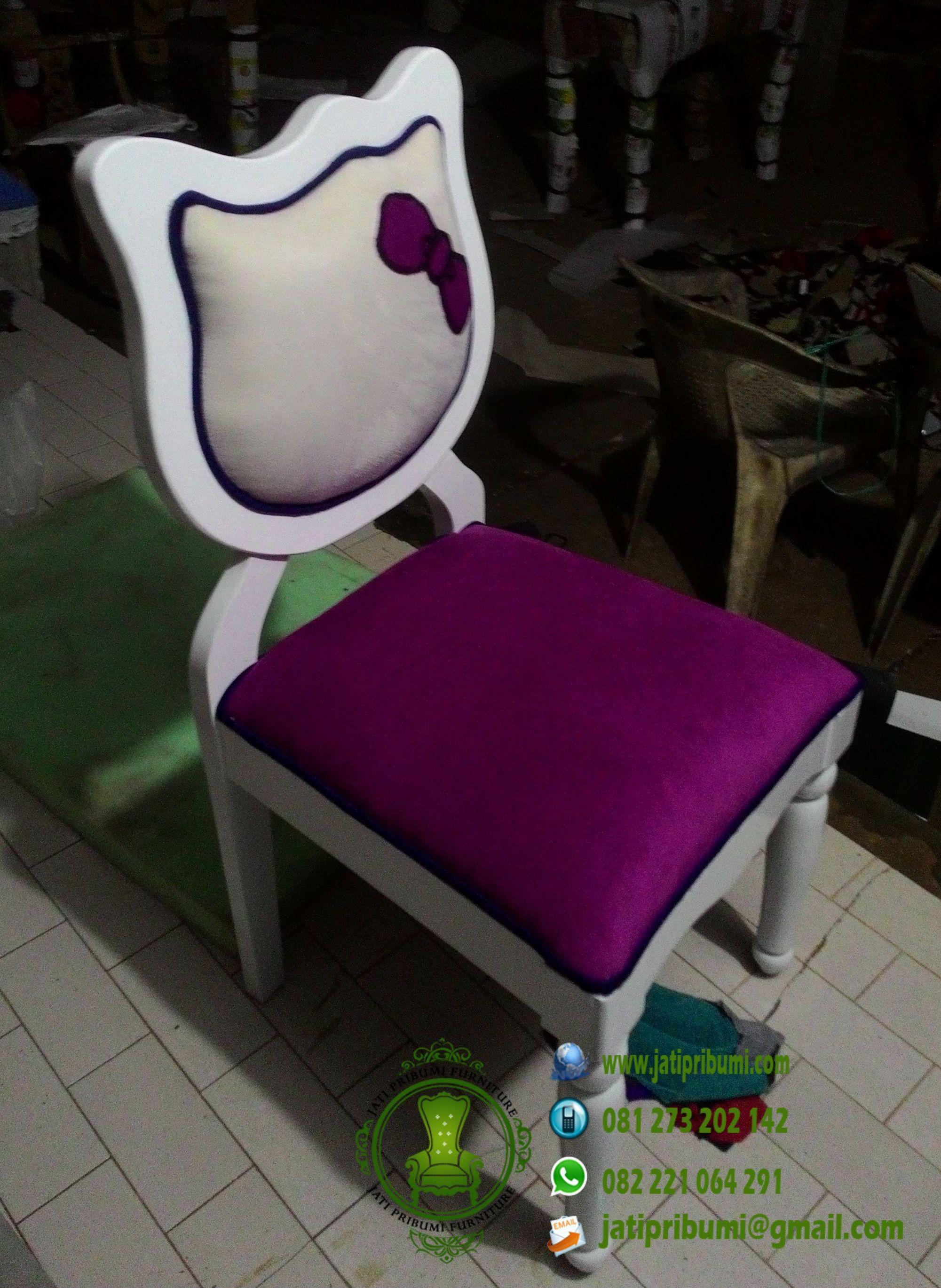 Meja Rias Hello Kitty Jati Model Terbaru  Jati Pribumi