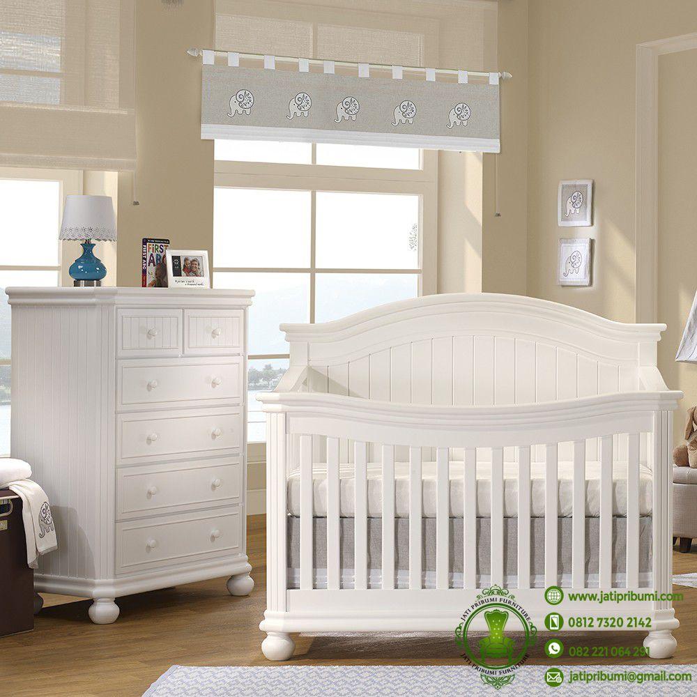 Jual Tempat Tidur Bayi Tafel  Jati Pribumi