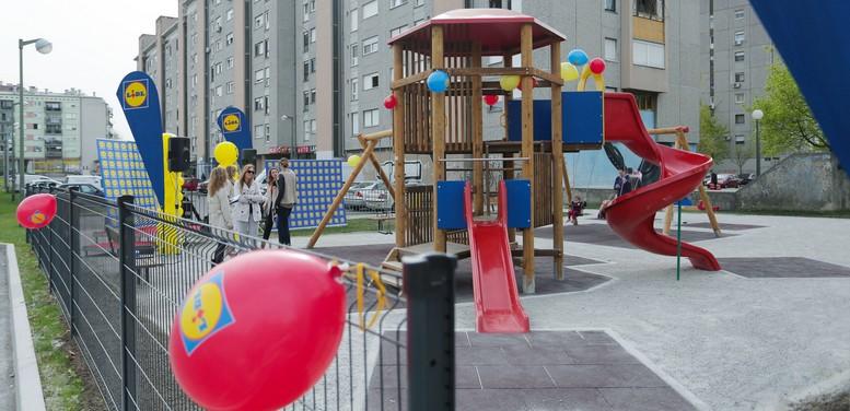 Djecji park u Donjoj Dubravi