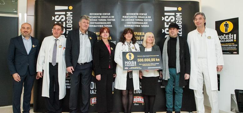 Kampanja Pocesi s razlogom za rano otkrivanje raka testisa