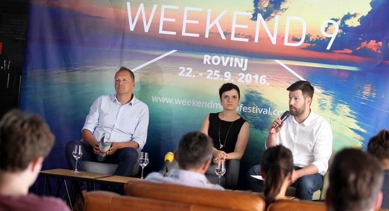Weekend Media Festival-Tomo Ricov, Kristina Miljavac, Nikola Vrdoljak