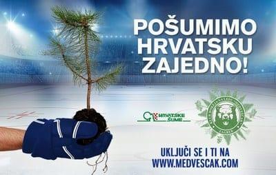 Veliko srce zagrebačkih Medvjeda kuca za Dalmaciju