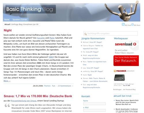 Basic Thinking Blog