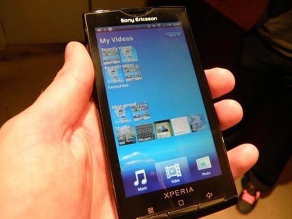 Sony Ericsson Xperia X10 Hand On