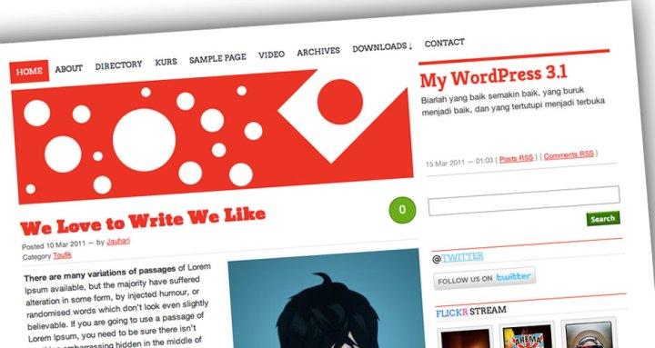 Nippon WordPress Theme screen shot