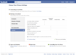 Choose Your Privacy Settings