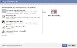 Facebook Request Permission