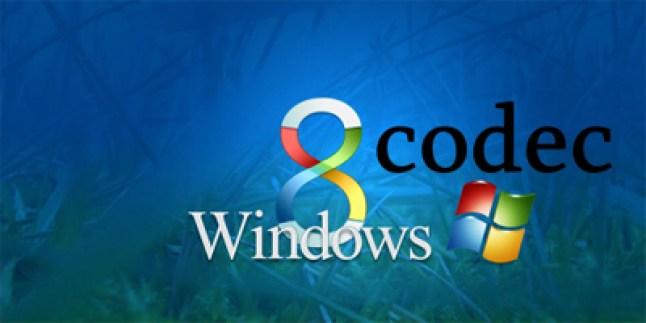 windows codecs