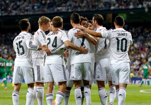 Real Madrid, Ludogorets Razgrad, Liga Champion