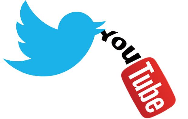 Twitter, Youtube, Video Online