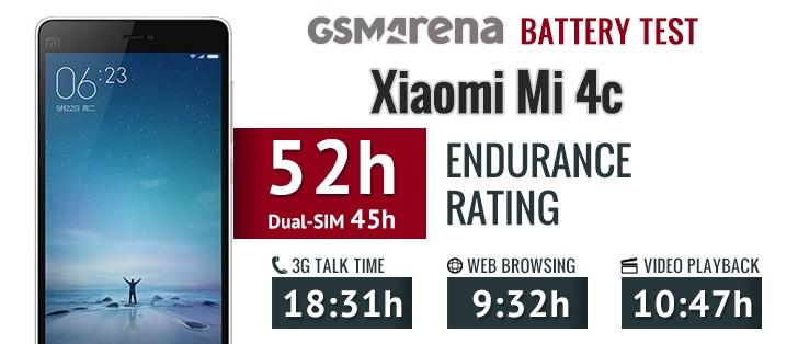 Hasil Test Baterai Xiaomi Mi4c