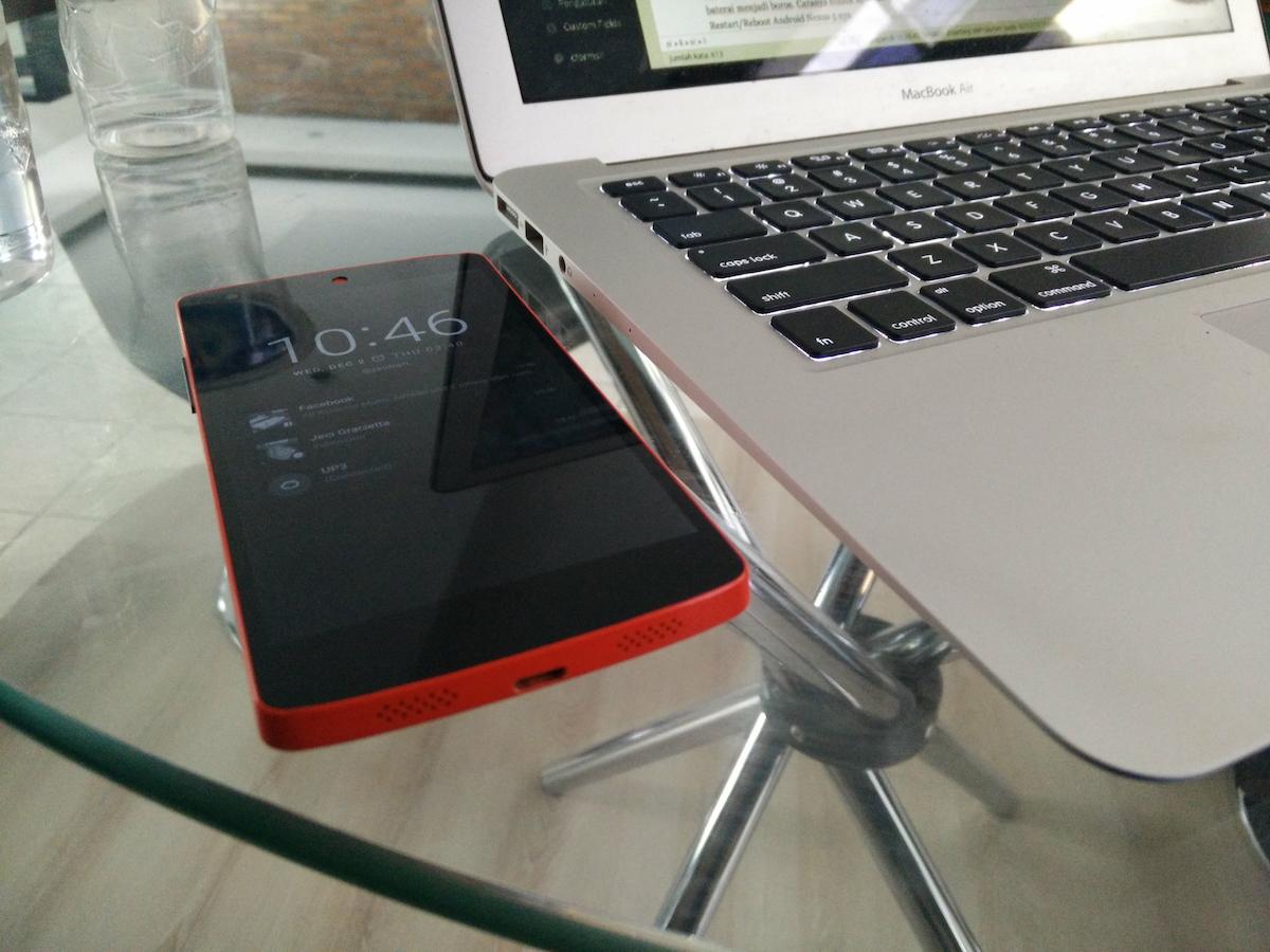 Android 5 Nexus 5 dengan Chroma ROM