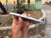 Sisi Samping Motorola Moto G 2015 Putih