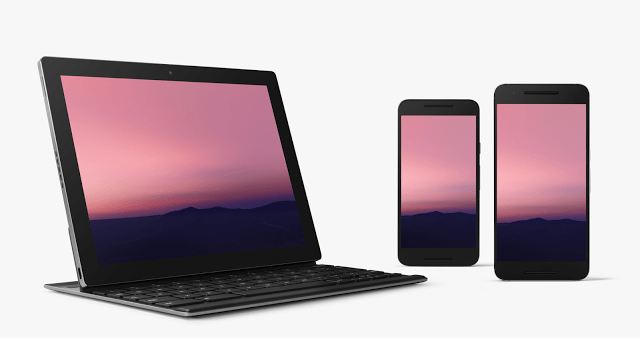 Android N support Minimal Google Nexus 6 dan Pixel C