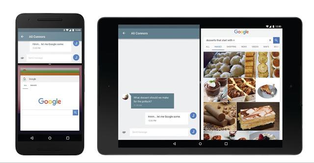 Android N dengan Multi Window